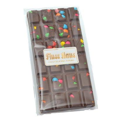 Barra de Chocolate ao Leite com Confete 100g