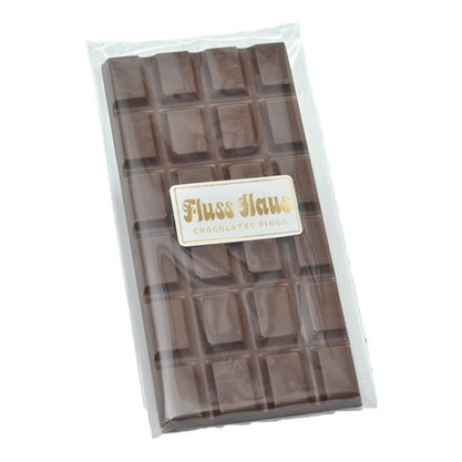Barra de Chocolate ao Leite com Cristais de Caramelo 100g