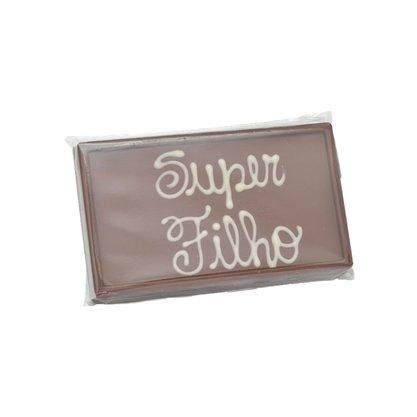 Barra de chocolate ao leite Super Filho 75g