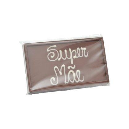 Barra de chocolate ao leite Super Mãe 75g