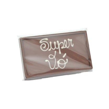 Barra de chocolate ao leite Super Vó 75g
