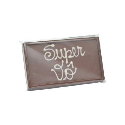 Barra de chocolate ao leite Super Vô 75g