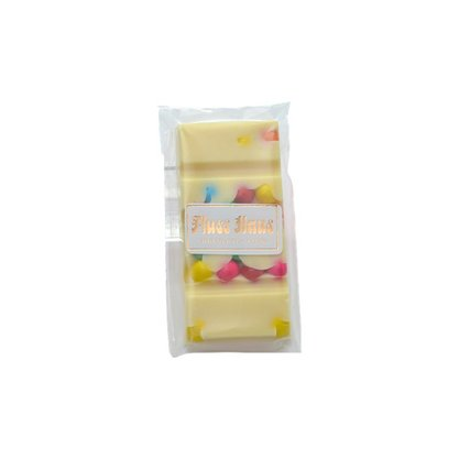 Barra de Chocolate Branco com confete 20g