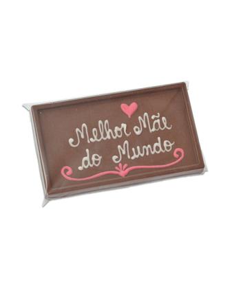Barra de Chocolate Melhor Mãe do Mundo