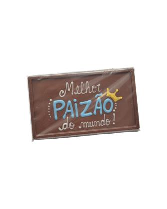 Barra de Chocolate Melhor Paizão do Mundo 75g