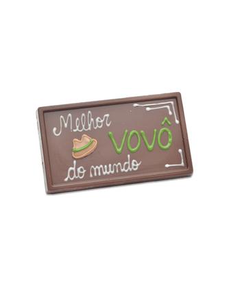 Barra de Chocolate Melhor Vovô do Mundo 75g