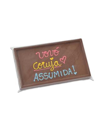 Barra de Chocolate Vovó Coruja Assumida