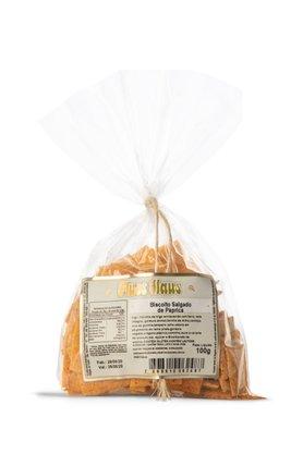 Biscoito Salgado de Páprica 100g