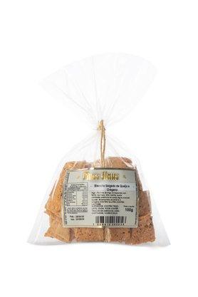 Biscoito Salgado de Queijo e Orégano 100g