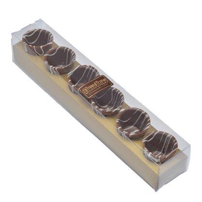 Caixa com 6 Copinhos de Chocolate ao Leite 45g