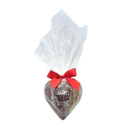Coração de Chocolate 150g Com Amor
