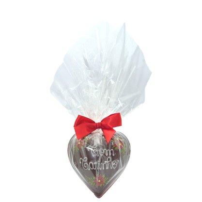 Coração de Chocolate 150g Com Carinho