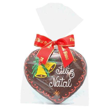Coração Feliz Natal G - Sino 120g