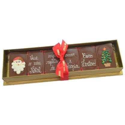 Kit Barrinhas com Frase 180g - Que o seu Natal