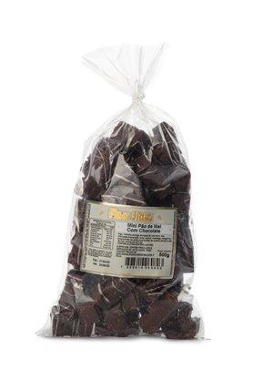 Mini Pão de Mel com Chocolate 500g