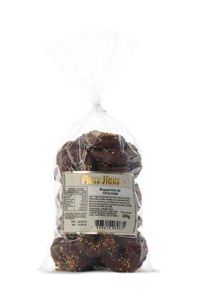 Rosquinha de Chocolate com Chocolate e Confeitos 350g